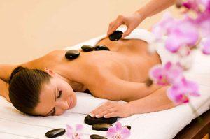 Pierres Chaudes Massage relaxant